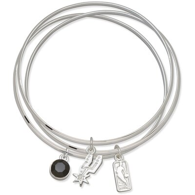 LogoArt® NBA Triple Bangle Bracelet