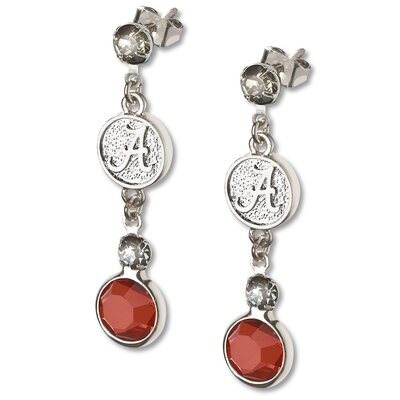 LogoArt® NCAA Logo Crystal Earrings