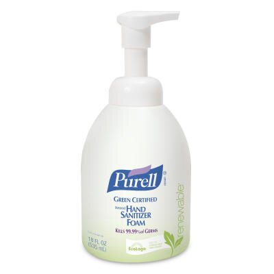 Purell® 18 Oz Green Certified Instant Hand Sanitizer Foam