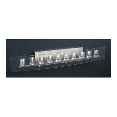 PLC Lighting Ice Cube 10 Light Vanity Light