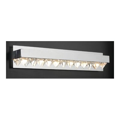 PLC Lighting Crysto 6 Light Vanity Light