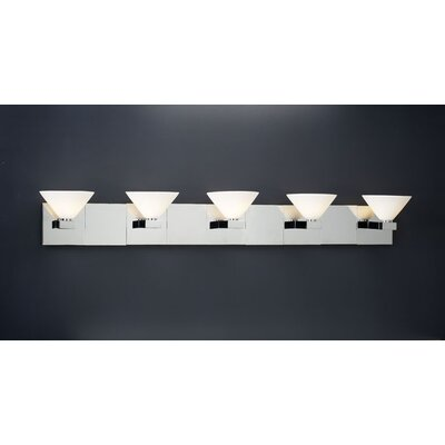 PLC Lighting Matrix 5 Light Vanity Light