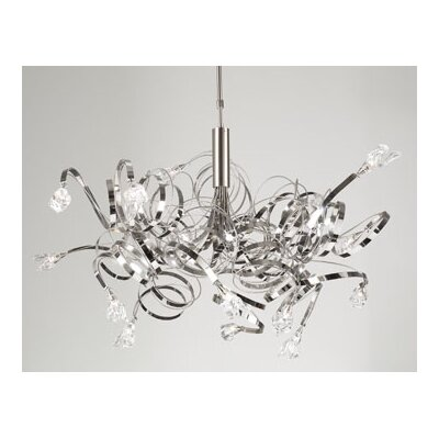 PLC Lighting Ribbon 16 Light Pendant