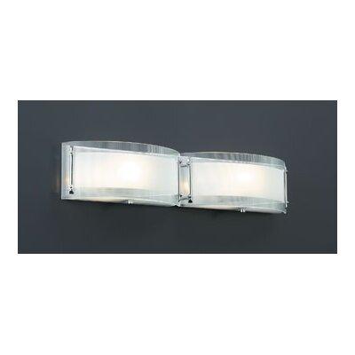 PLC Lighting Millennium 2 Light Vanity Light