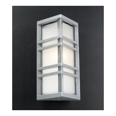 PLC Lighting Trevino 1 Light Outdoor Wall Sconce
