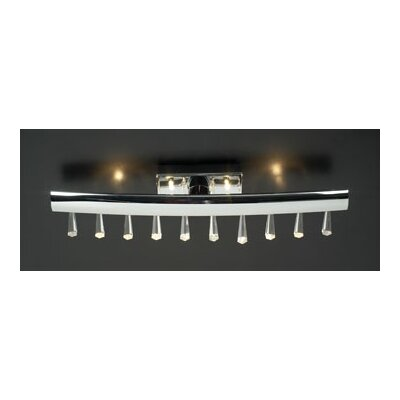 PLC Lighting Kristalina 4 Light Vanity Light
