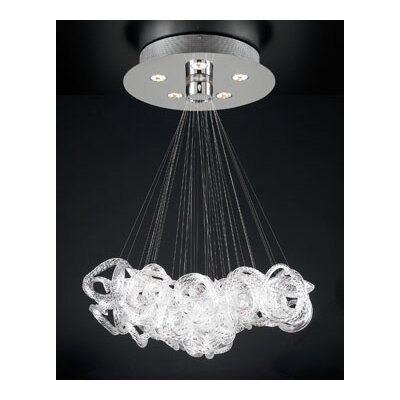 PLC Lighting Elegance 5 Light Pendant