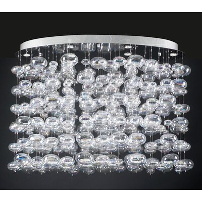 PLC Lighting Bubbles 15 Light Pendant