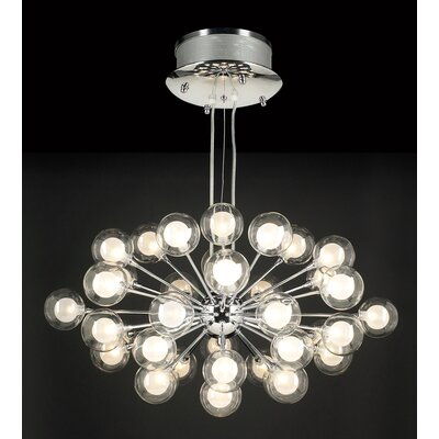 PLC Lighting Coupe 37 Light Pendant