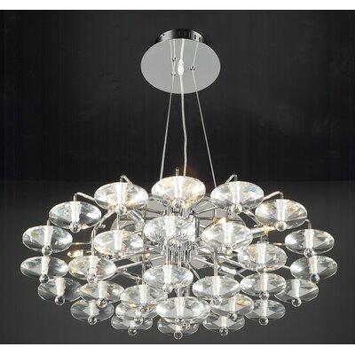 PLC Lighting Diamente 12 Light Pendant
