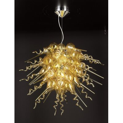 PLC Lighting Elixir 3 Light Pendant