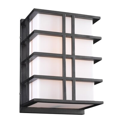 PLC Lighting Amore 2 Light Outdoor Wall Sconce