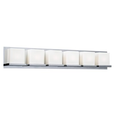 PLC Lighting Furlux 6 Light Bath Vanity Light