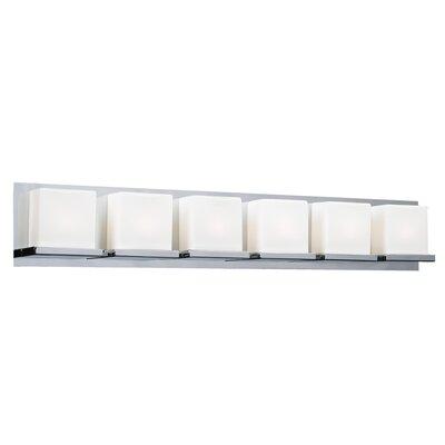 PLC Lighting Furlux 6 Light Bath Vanity Light