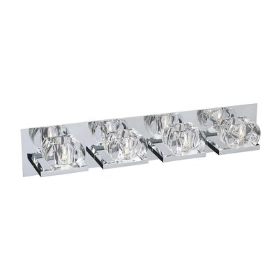 PLC Lighting Cielo 4 Light Bath Vanity Light
