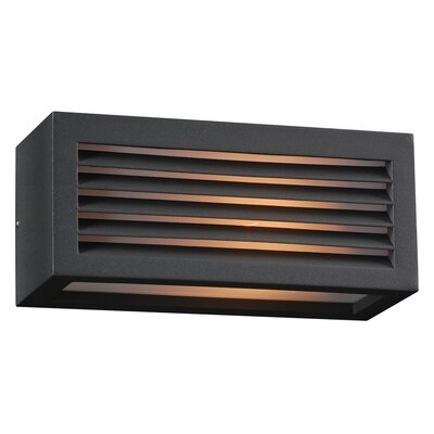 PLC Lighting Madrid 1 Light Outdoor Wall Sconce