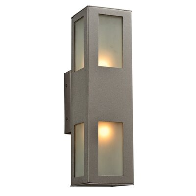 PLC Lighting Tessa 2 Light Outdoor Wall Sconce