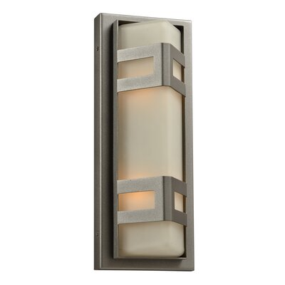 PLC Lighting Sasha 2 Light Outdoor Wall Sconce