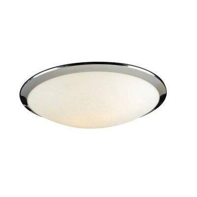 PLC Lighting Preston 2 Light Flush Mount