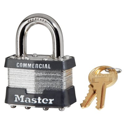 Master Lock Company No. 1 Laminated Padlock with 2 Keys