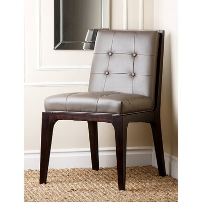 Abbyson Living Barrix Leather Dining Chair