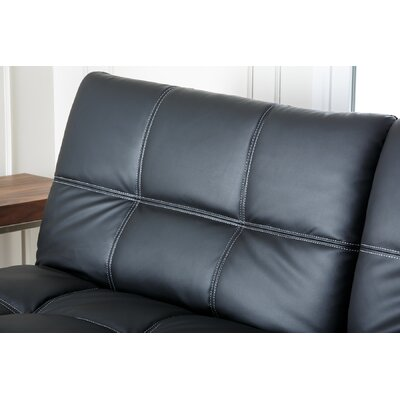 Abbyson Living Chandler Euro Convertible Loveseat