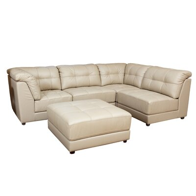 Donovan Leather Modular Sectional