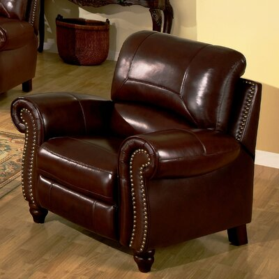 Abbyson living charlotte leather club recliner reviews for Abbyson living sedona leather chaise recliner