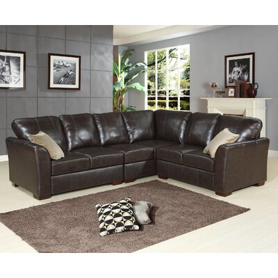 Abbyson Living Modena Leather Sectional