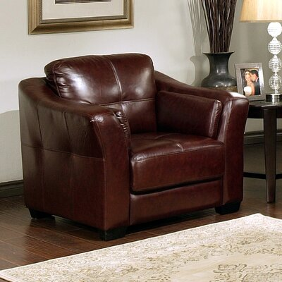 Abbyson Living Ashburn Top Grain Leather Chair