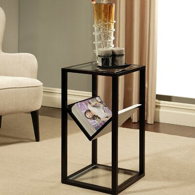 Abbyson Living Heritage Glass Bookshelf