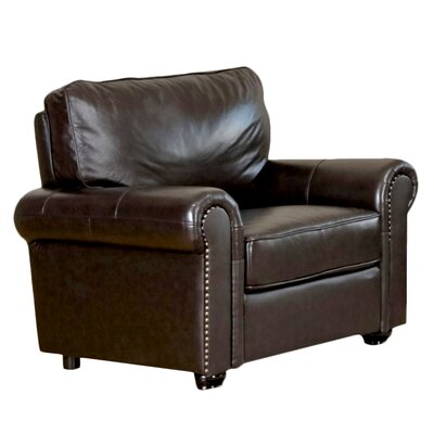 Abbyson Living Bliss Leather Chair