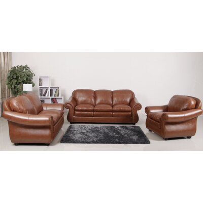 Abbyson Living Houst Premium Sofa, Loveseat and Arm Chair Set