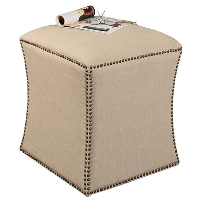 Abbyson Living Waverly Nailhead Trim Ottoman