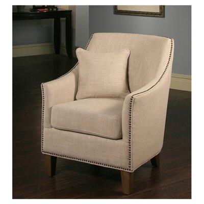 Abbyson Living Jennifer Fabric Nailhead Trim Armchair