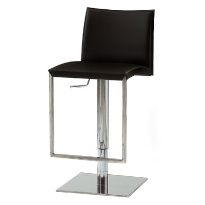 "Bellini Modern Living Dixon 19"" Adjustable Swivel Bar Stool"