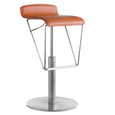 "Bellini Modern Living Alfa 19.5"" Swivel Adjustable Bar Stool"