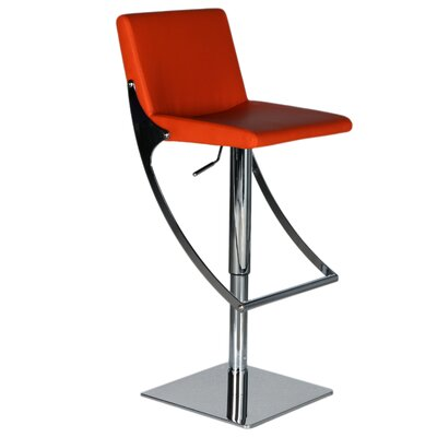 "Bellini Modern Living Sonic 21"" Adjustable Bar Stool"