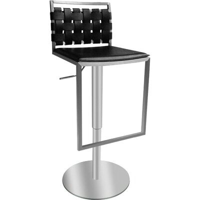 Bellini Modern Living Sigma Leather Barstool
