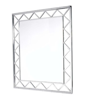 "Bellini Modern Living 49"" Jazz Stainless Steel Mirror"