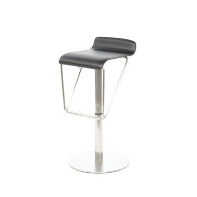 "<strong>Bellini Modern Living</strong> Alfa 19.5"" Swivel Adjustable Bar Stool"