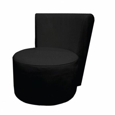 Roxy Leatherette Slipper Chair