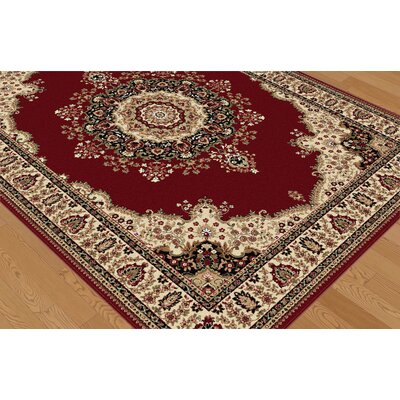 Tayse Rugs Sensation Red Rug