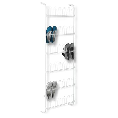 18 Pair Odd Shoe Rack