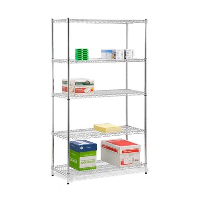 Honey Can Do Five Tier Storage Shelves in Chrome