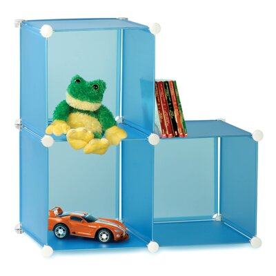 Honey Can Do 3 Pack Modular Toy Storage Cube