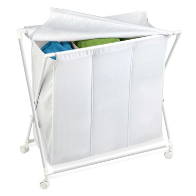 Honey Can Do Triple Folding Hamper