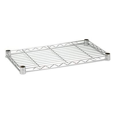 "Honey Can Do 14"" W x 24"" D 350lb Steel Shelf"