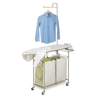 Honey Can Do Foldable Ironing Laundry Center and Valet