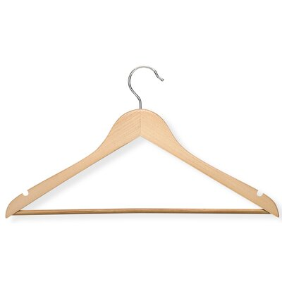 Suit Hanger With Non Slip Bar (Set of 4)